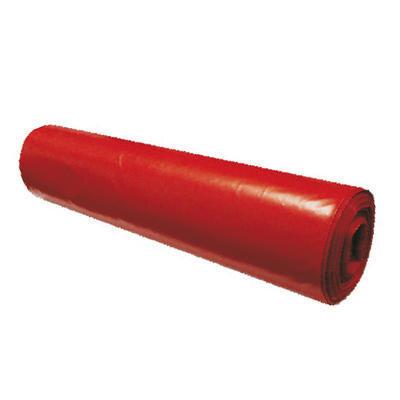 Červené pytle na odpad 120 L - 60 µm, 25 ks/role