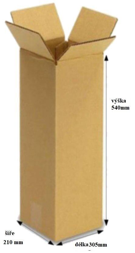 KRABICE KLOPOVÁ 3 VVL 305 X 210 X 540 MM