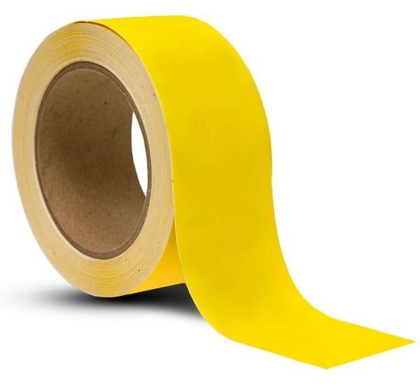 Maskovací lepící páska žlutá speciál