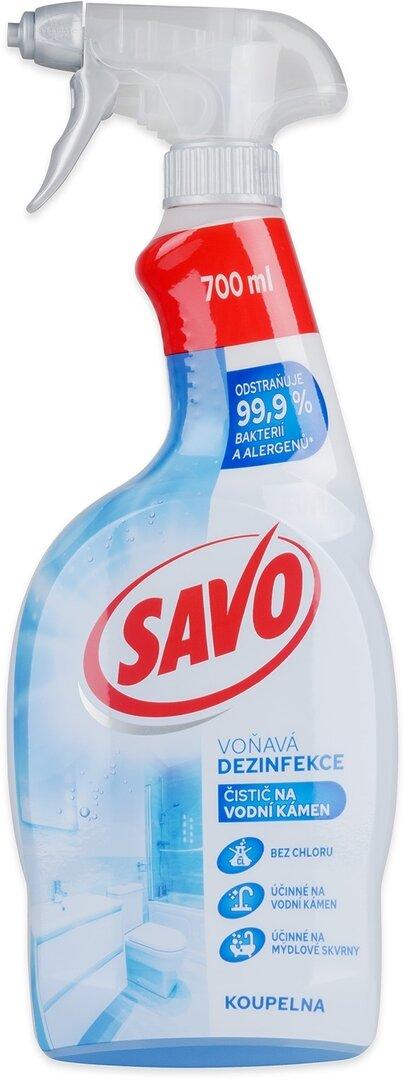 SAVO univerzální dezinfekce na vodní kámen 700 ml