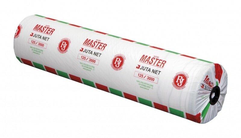 Síťovina JUTANET šíře 60 cm, návin 1400m, pro horské svinovací lisy a k balení palivového dřeva na paletě