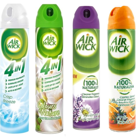 Air Wick 4 v 1 osvěžovač vzduchu ve spreji 240 ml
