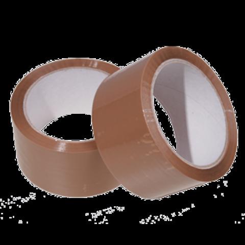 AKRYL Lepící balicí páska hnědá