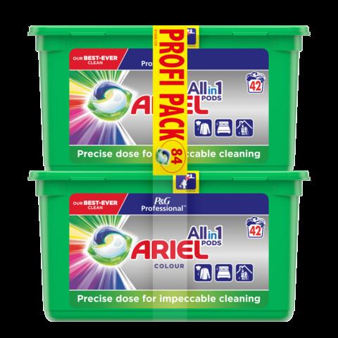 Ariel P&G Professional Color Tablety na praní 2x42 ks