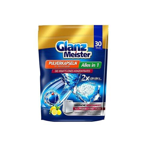 Extra Glanz Meister tablety do myčky vše v jednom - 30ks