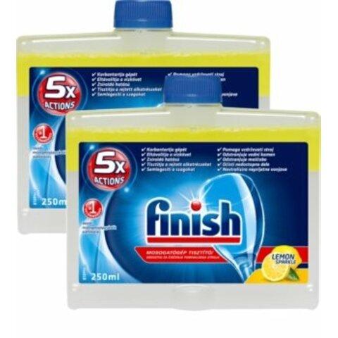 Finish Dishwasher Cleaner Lemon 2 x 500ml