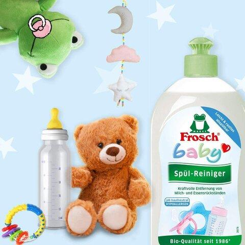 Frosch baby mycí prostředek na kojenecké lahve a dudlíky 100 ml