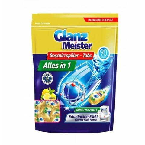 Glanz Meister tablety do myčky vše v jednom - 90ks