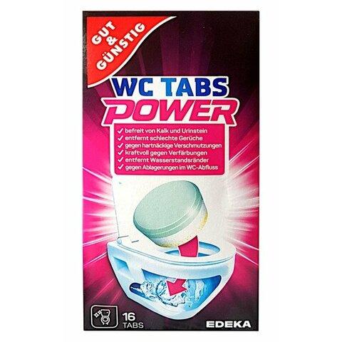 Gut & Günstig čistící tablety do WC 16 ks