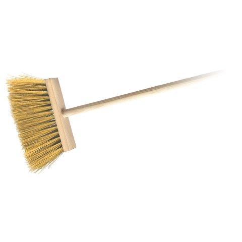 Koště zatloukané dřevěné s holí 120 cm