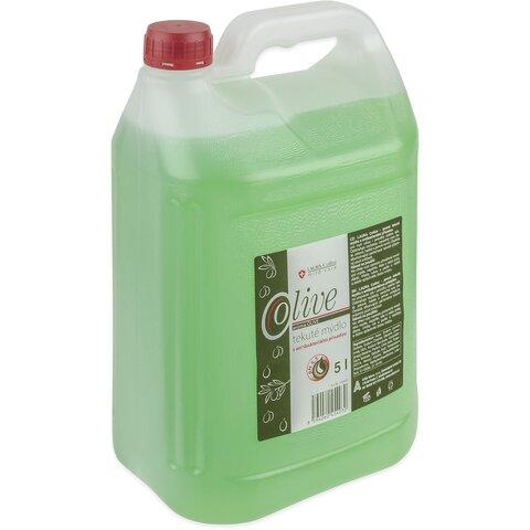 Laura Collini tekuté mýdlo s antibakteriální přísadou Olive 5l