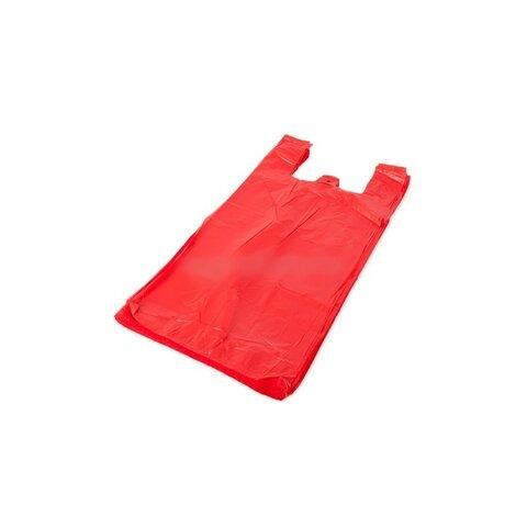 Mikrotenová taška červená 100 ks