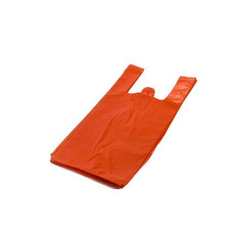 Mikrotenová taška oranžová 100 ks