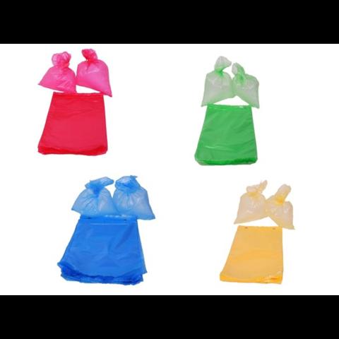 Mikrotenové sáčky barevné