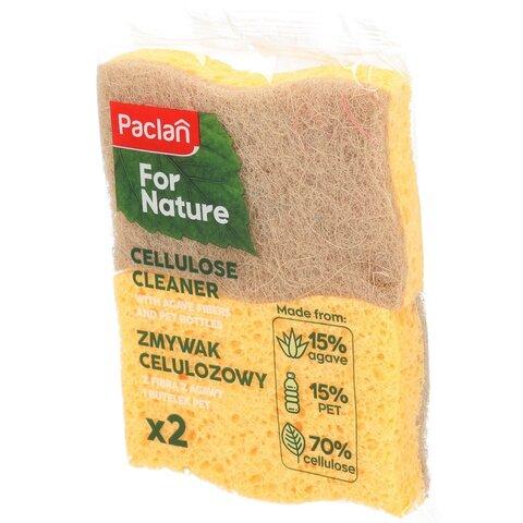 Paclan for nature Přírodní houbičky z agávu a PET lahví 2 ks