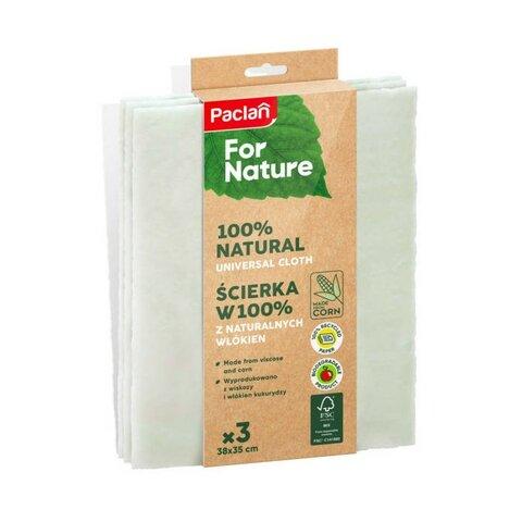 Paclan for nature univerzální rozložitelné utěrky 3 ks 38 x 35 cm