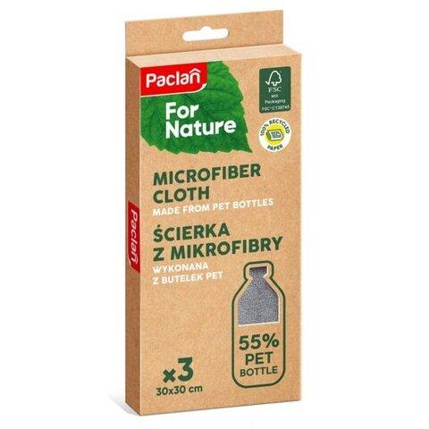 Paclan for nature utěrka z mikrovlákna z recyklovaných PET lahví 3 ks