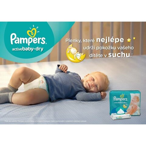 Pampers active baby - plenky