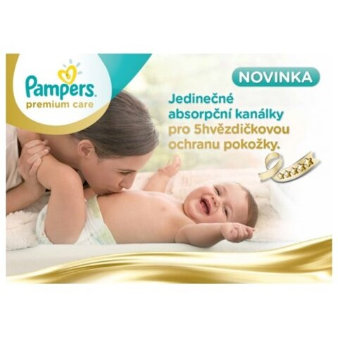 Pampers premium care - plenky
