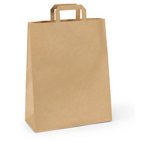 Papírová taška s plochým uchem