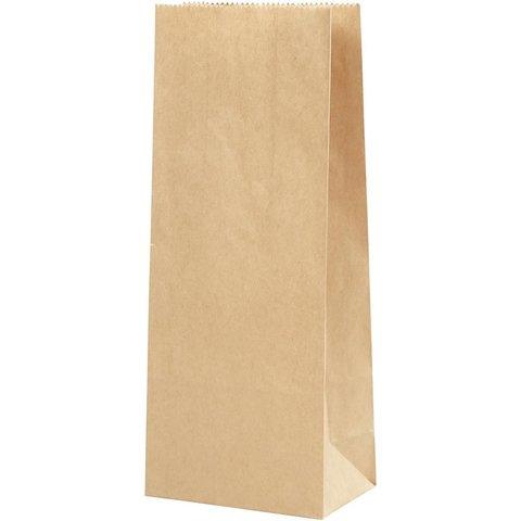 Papírové pytle hnědé