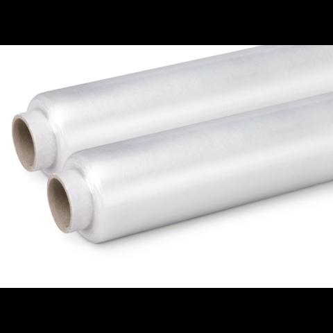 Předepnutá fólie transparentní ruční 420 mm, 9 mikronů, 550m