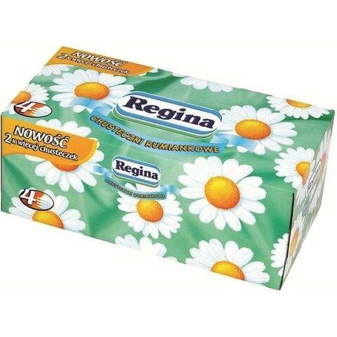 Regina papírové kapesníčky s vůní heřmánku 4-vrstvé 96 ks