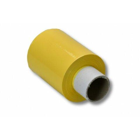 Ruční stretch fólie 100 mm žlutá granát