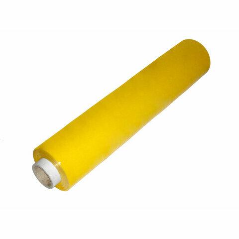 Ruční stretch fólie 500 mm, 23 mikronů, žlutá - 100 m