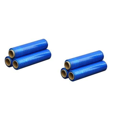 Ruční stretch fólie 500 mm, modrá - 6 ks