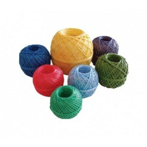SILNÝ Polypropylenový provázek motouz mix barev 50g, 100g a 250g