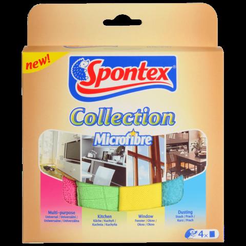 Spontex utěrky collection 4 ks