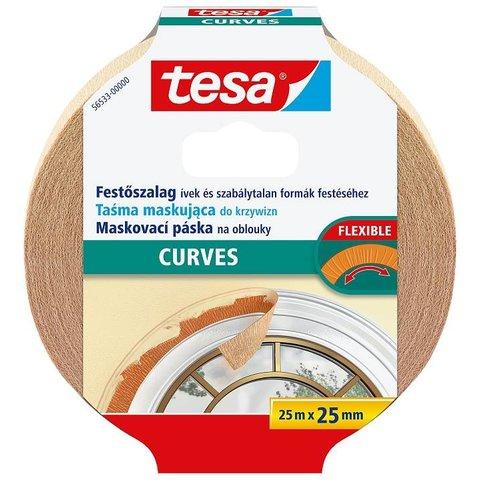 TESA 56533 maskovací páska na oblouky 25m x 25mm