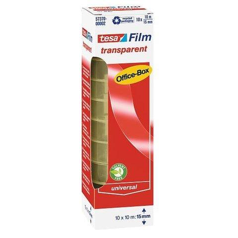 TESA 57370 kancelářská páska 15 mm x 33 bm, 10 ks