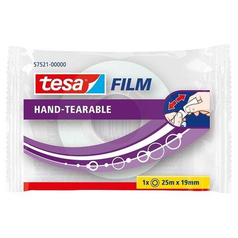 TESA 57521 rukou trhatelná - 19 mm x 25 m