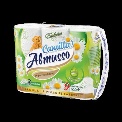 Toaletní papír Almusso Camilla 3 vrstvý 9 ks