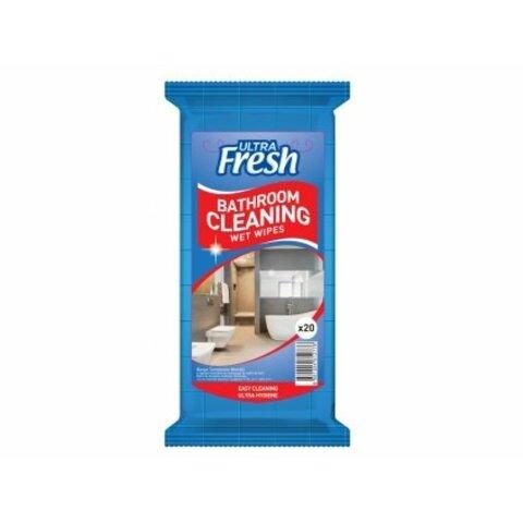 ULTRA Fresh čistící ubrousky do koupelny 20 ks