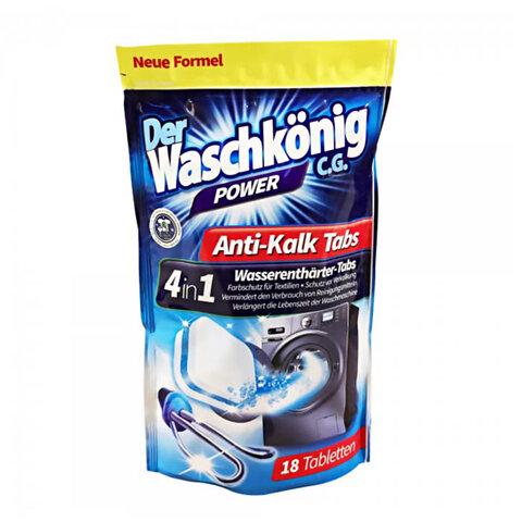 WASCHKÖNIG ANTI-KALK 4 v 1 Tablety do pračky 18ks
