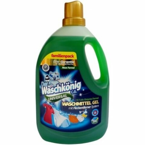 Waschkönig Univerzál prací gel 110 praní, 3,305 L