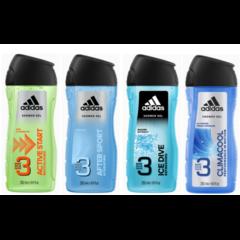 ADIDAS 3in1 sprchový gel pro muže 400 ml