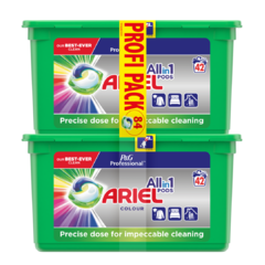 Ariel P&G Professional Color Tablety na praní 2x42 ks