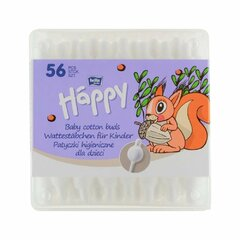 Bella Happy vatové tyčinky 56ks dětské