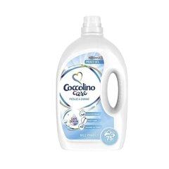 Coccolino care prací gel na bílé prádlo 75 dávek, 3L
