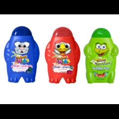 Dětský šampon a sprchový gel s ovocnou vůní