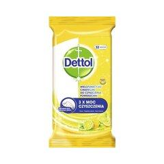 Dettol antibakteriální ubrousky 32 ks