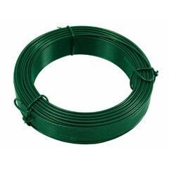 Drát zelený PVC
