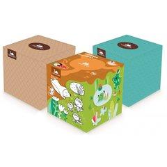 Harmony kosmetické kapesníky v krabičce Cube Box 60 ks, 100% celulóza