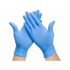 Jednorázové rukavice modré nitril