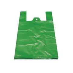 Mikrotenová taška zelená 100 ks