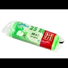 Odpadkové pytle zatahovací aromatické 25 L/20 ks jablko